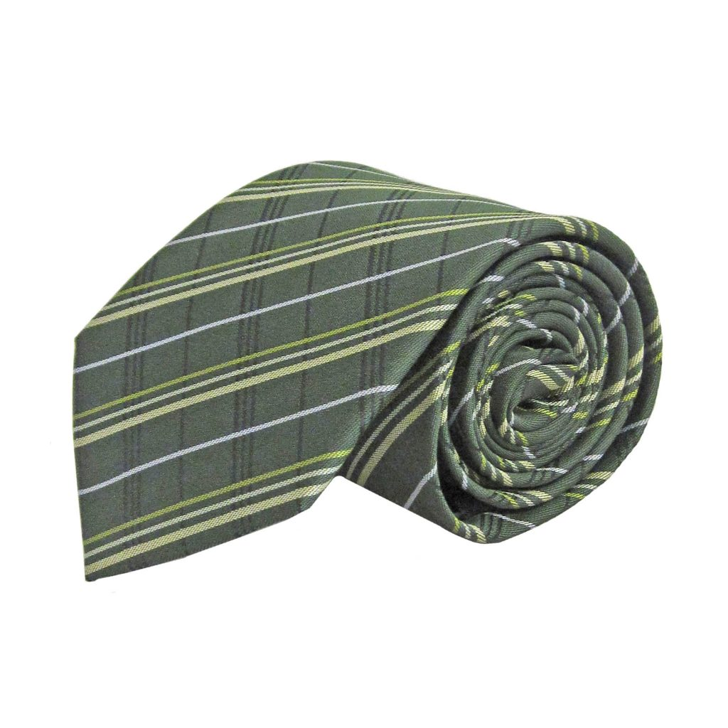 Plaid Taupe Hunter Green Olive Taupe Black Plaid Men S Tie 8976