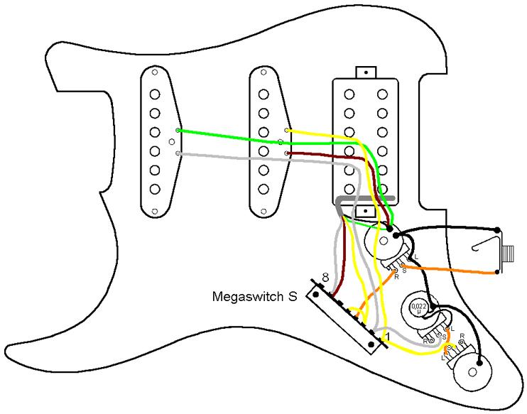 Fender Guitar Hss Wiring Diagram
