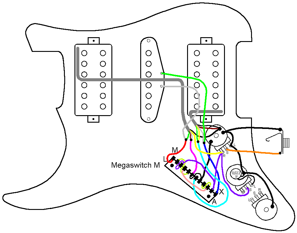 stewmac wiring diagrams hsh