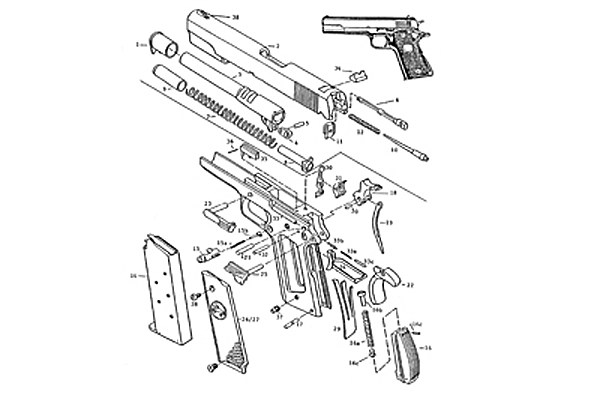 Taurus 1911 Schematic Wiring Diagram