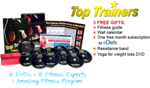 Get In Shape with Top Trainers DVD Set!