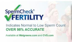 SpermCheck Fertility Kit Giveaway