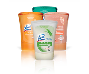 Lysol No-Touch Kitchen System (Giveaway!)