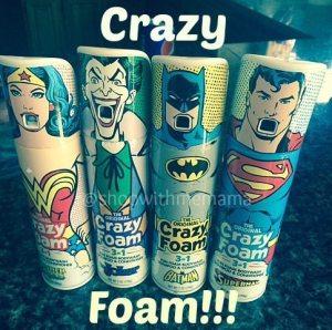 Crazy Foam Makes Bath Time Fun For Kids!