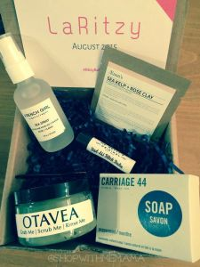 LaRitzy Monthly Subscription Box Beauty Without Cruelty