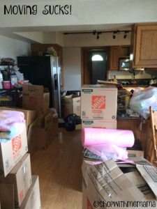 We Are Moving And I Am Very Stressed Out!
