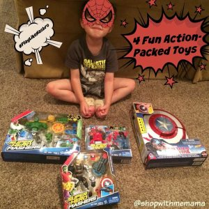 4 Fun Action-Packed Toys From Your Favorite Movies! (Giveaway) #PlayLikeHasbro