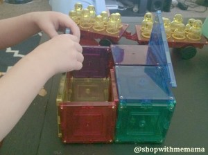 Check Out The Magnetic Stick N Stack Tiles! (Giveaway)