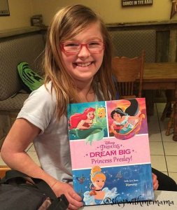 Disney's Dream Big Princess Book By Put Me In The Story (Giveaway)