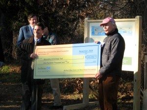 Anthem Blue Cross presents $100,000 gift for Hammonasset Trail