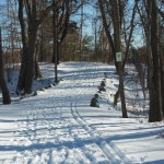 Skiers love our trail!