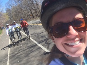 a selfie on-the-go by Chelsea Anderson of her family