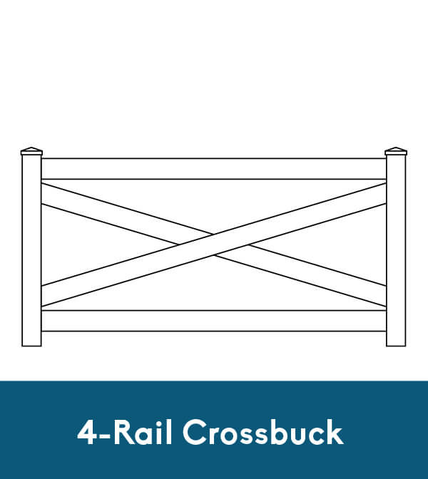 4-Rail Crossbuck
