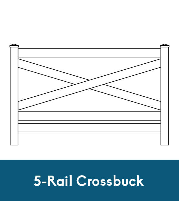 5-Rail Crossbuck