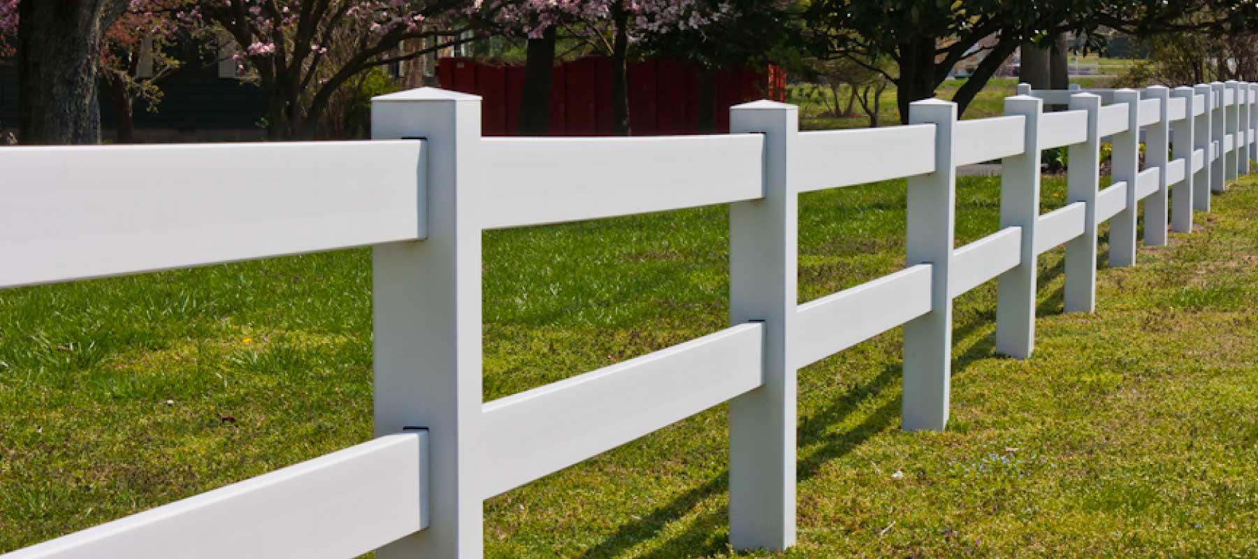 2 rail vinyl fence shoreline vinyl systems color options baanklon Images