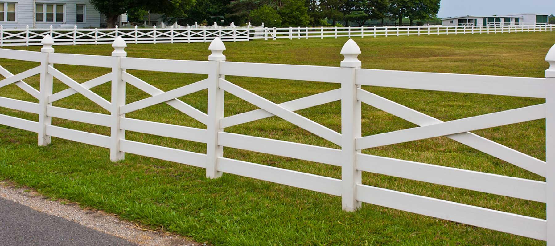 5 rail crossbuck vinyl fence shoreline vinyl systems color options baanklon Images