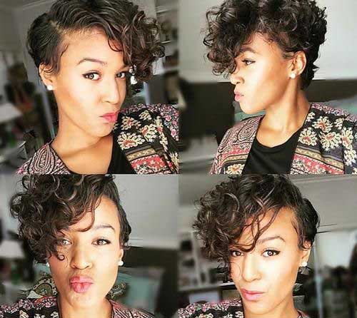 Layered Pixie Cut 15 Pixie Cuts For Curly Hair Short Hairstyles 2017