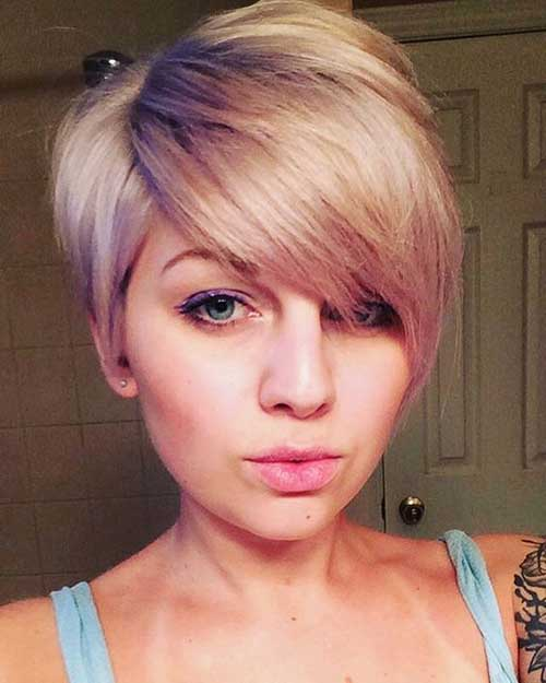 Best Trendy Haircuts For Round Face Most Beloved 20 Pixie Haircuts Short Hairstyles 2018