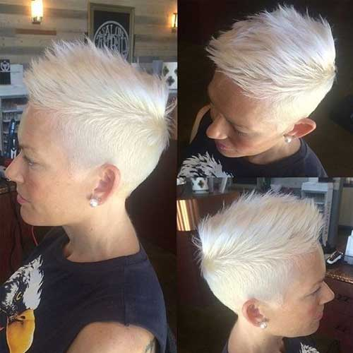 Bob Hairstyles The Back View Very Fashionable Pixie Cuts For Ladies Short Hairstyles
