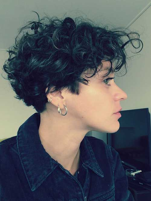Pixie Cuts With Wavy Hair Gorgeous Short Curly Hair Ideas You Must See Short