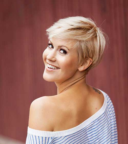 Nice Hair Color For Dark Skin Tone Ladies 39; Choise Short Pixie Cuts Short Hairstyles 2017
