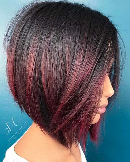 Nice Hair Color For Dark Skin Tone Eye Catching Short Red Hair Ideas To Try Short