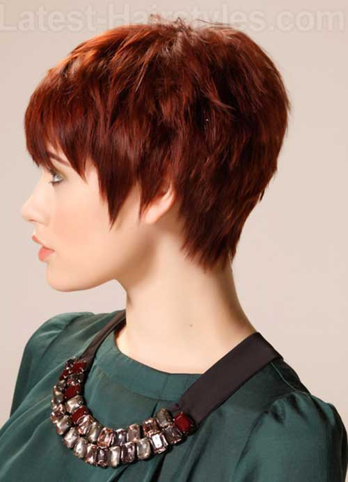 Pixie Cuts With Volume 20 Best Red Pixie Hair Short Hairstyles 2017 2018