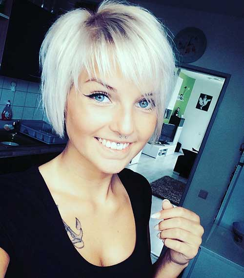 Bob Cut Haircuts 20 Latest Short Hairstyles For Round Face Shape Short