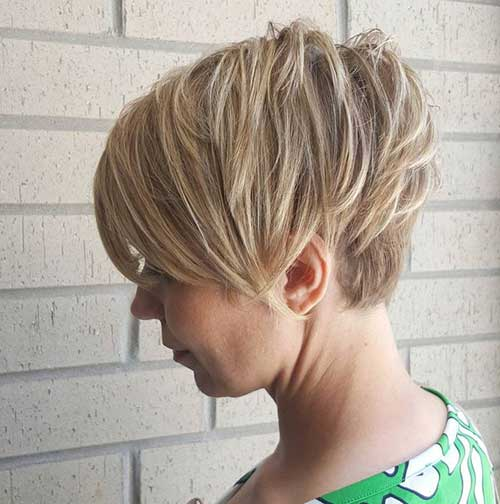 Pixie Cut Hinterkopf Really Famous Short Layered Haircuts For Women | Short