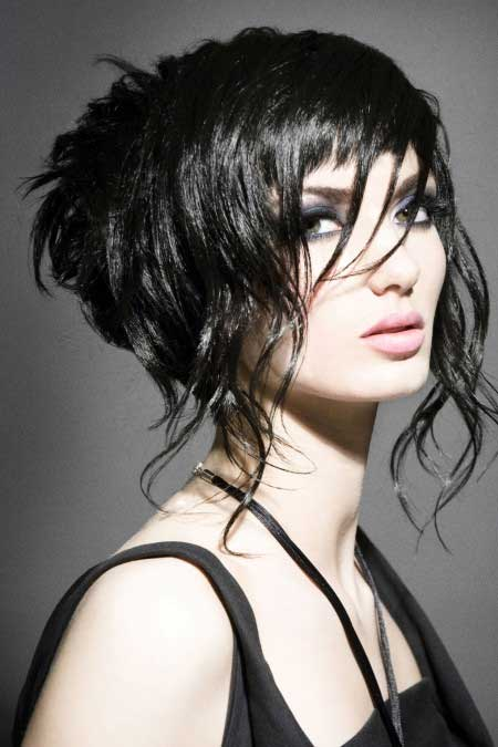 Wavy Choppy Hairstyles : Beautiful short choppy bob hairstyles
