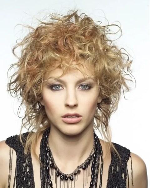 Edgy Punk Haircuts: Short Edgy Haircuts For Curly Hair