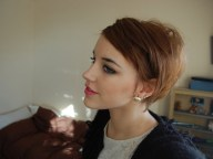 Short Choppy Haircuts Brunette