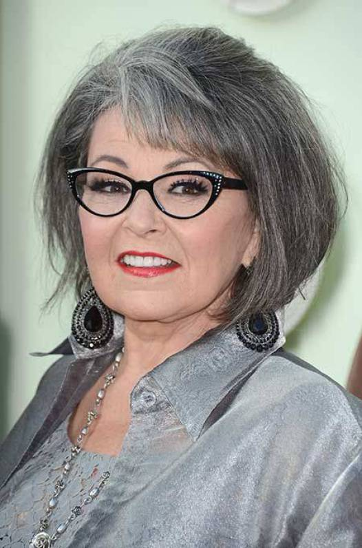 2014 Short Hairstyles for Older Women with Glasses