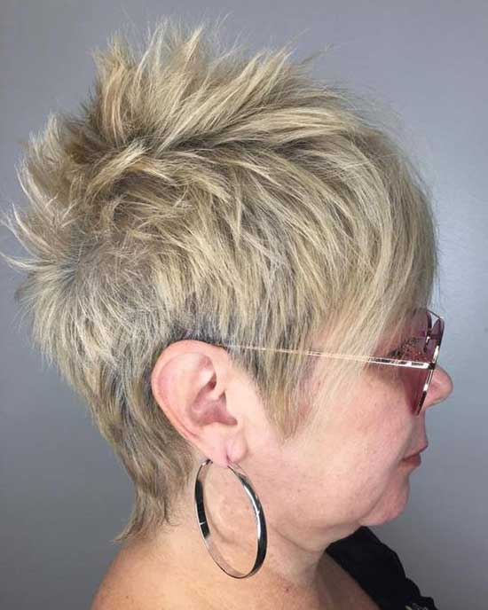Bob Hairstyles The Back View 30 Latest Short Hairstyles For Women Over 60 Short Haircuts