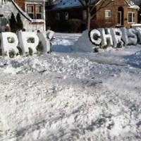 ROADSIDE FINDINGS: A WHITE CHRISTMAS