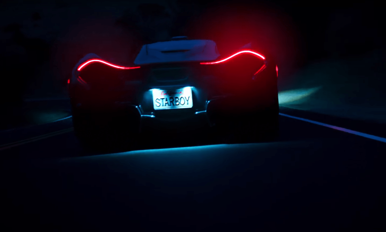 Nova Car Wallpaper Starboy Drives A Mclaren P1