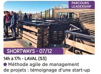 Méthode agile de management de projets :  témoignage de Shortways