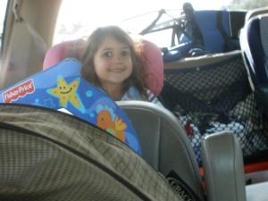 Selah Not Throwing Things in the Car