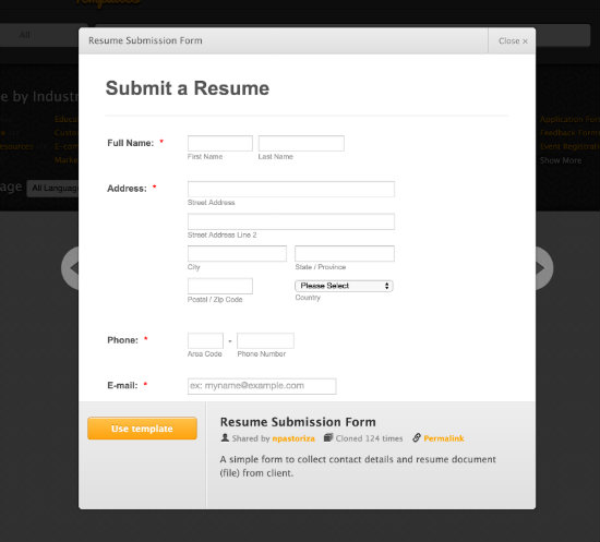 How to Make a Standout Resume Submission Form The JotForm Blog