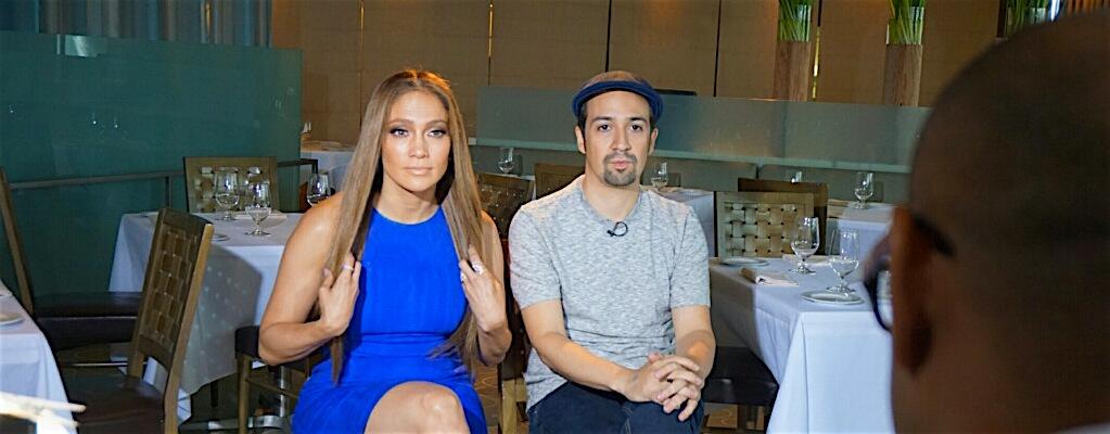 My Interview With J-Lo & Lin-Manuel Miranda On Orlando Shooting