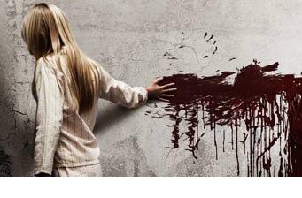 Sick motion poster of horror film 'Sinister'