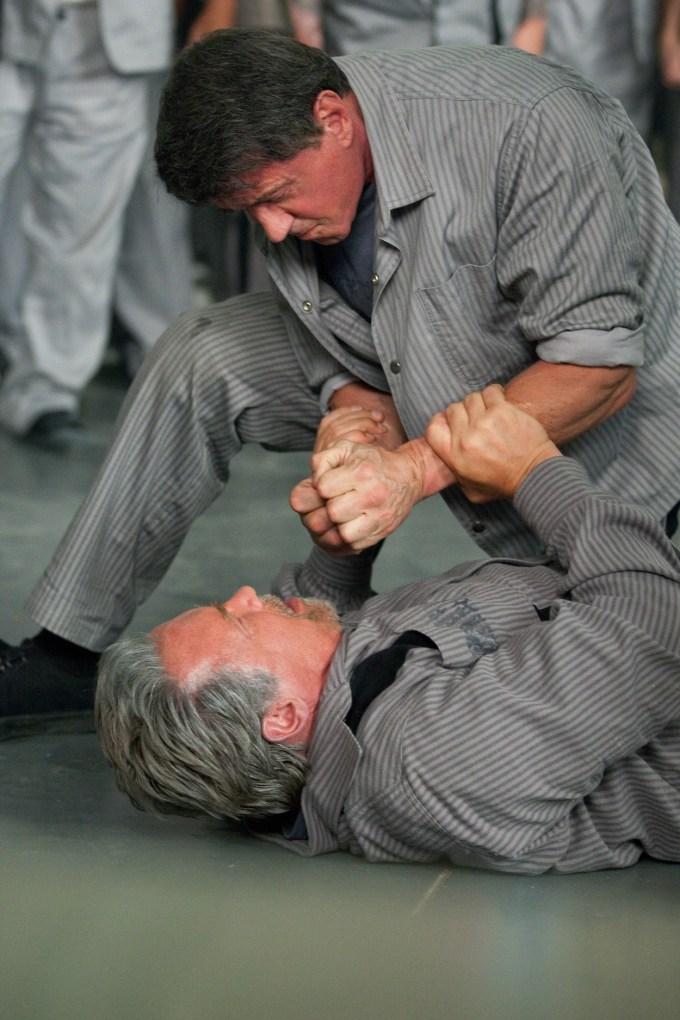 Escape Plan, Stallone and Schwarzenegger
