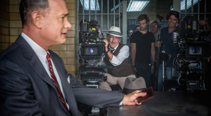 Spielberg, Hanks Talk Coen Brothers Influence On 'Bridge Of Spies'