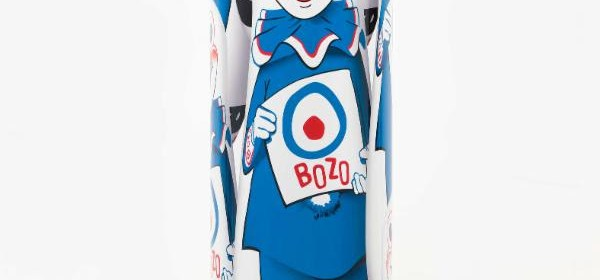 "Kathryn Andrews, ""Bozo""™"" The World's Most Famous Clown"" Bop Bag with Occasional Performance (Blue Variation), 2014. Courtesy of David Kordansky Gallery, Los Angeles. Photo: Fredrik Nilsen."