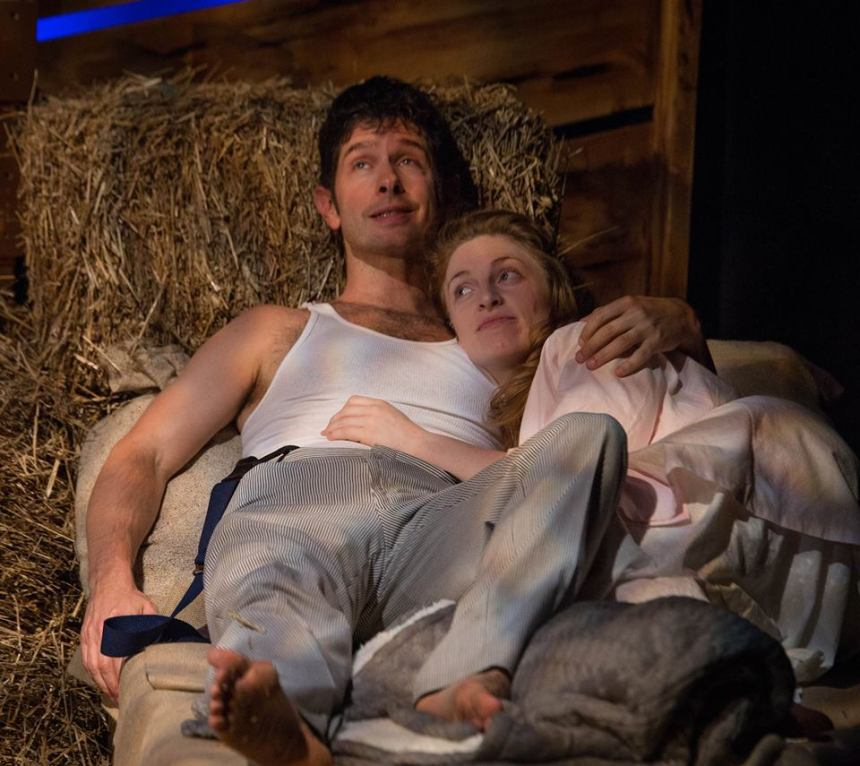Tom Carr as Starbuck and Anne Marie White as Lizzie
