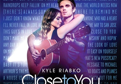 Close to You from Kyle Riabko - CD Cover