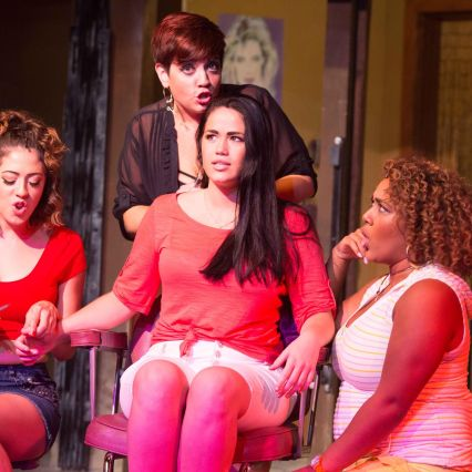 "Missy Aguilar as ""Daniela"" and the cast of In The Heights perform ""Carnaval Del Barrio"""