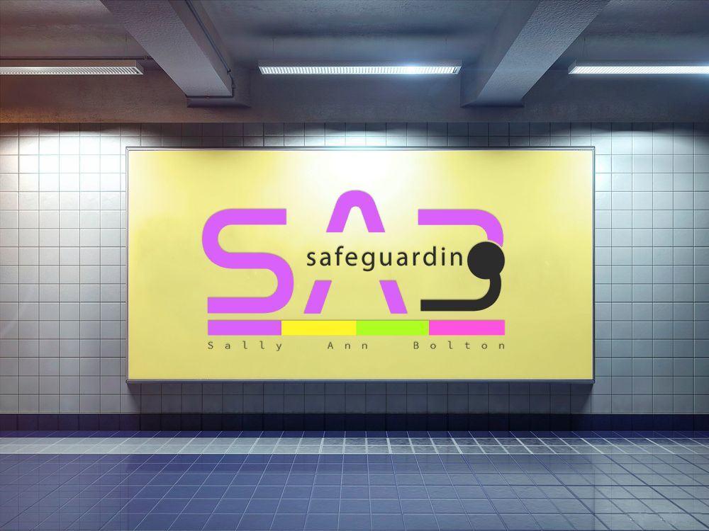 underground billboard advertising SaB Safeguarding through their new logo