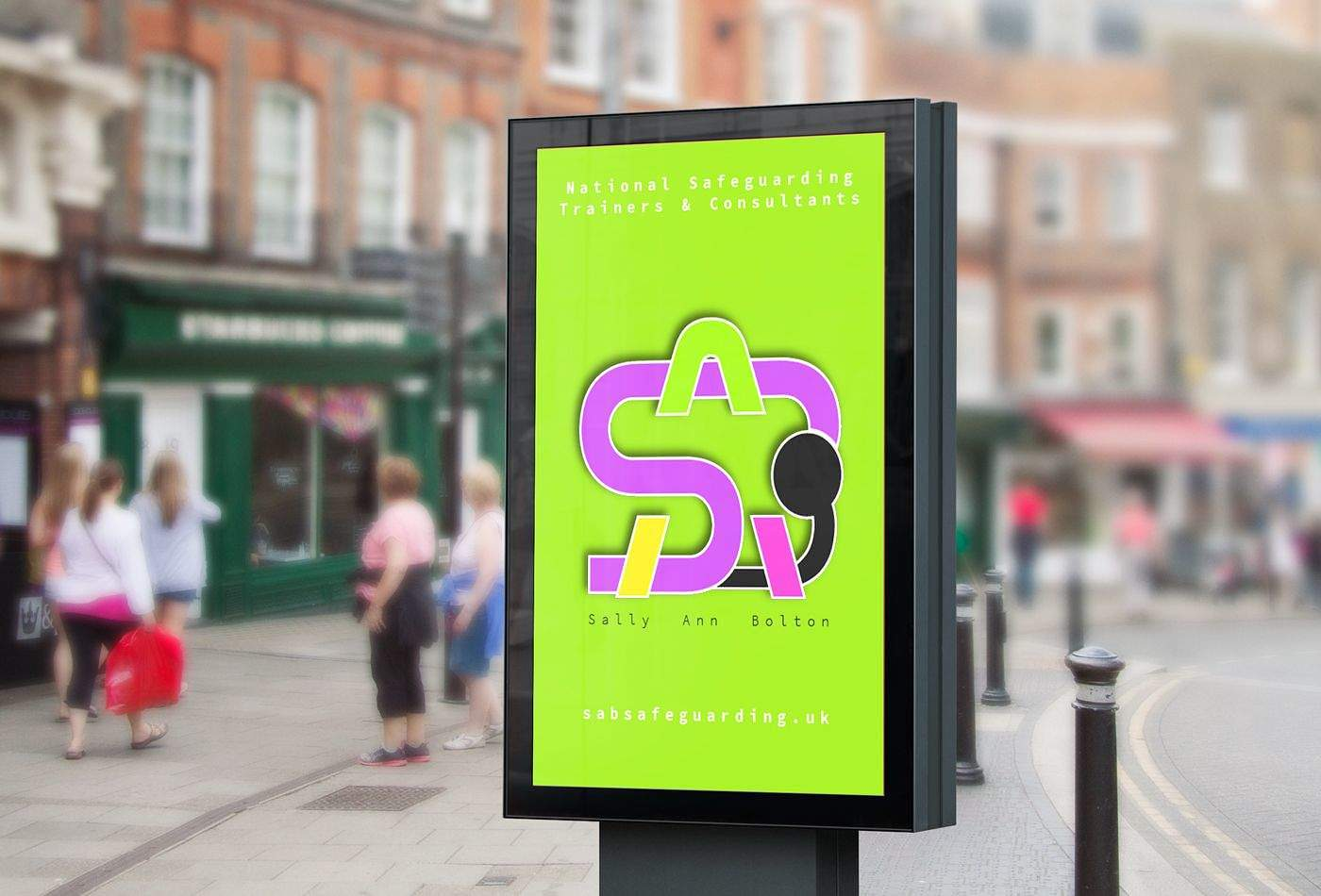 sab iconery street billboard - example of the icon design