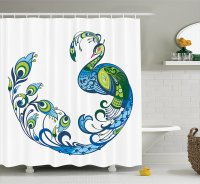 Peacock Bathroom Decor Ideas